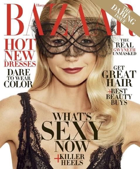 Harper's Bazaar Cover - 11/1/2016
