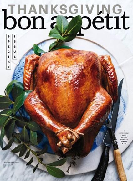 Bon Appétit Cover - 11/1/2016