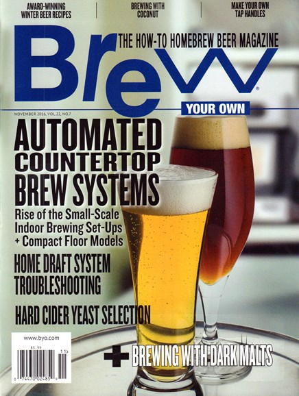 Brew Your Own Cover - 11/1/2016