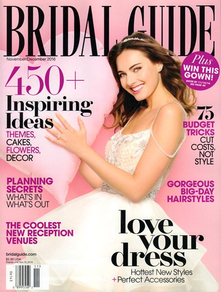 Bridal Guide Cover - 11/1/2016