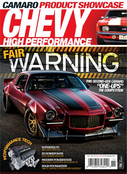 Chevy High Performance Cover - 11/1/2016