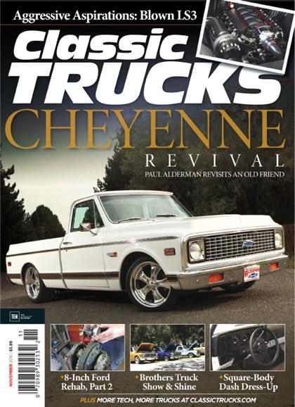 Classic Trucks Cover - 11/1/2016