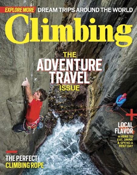 Climbing Magazine Cover - 11/1/2016