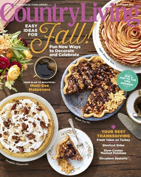 Country Living Cover - 11/1/2016