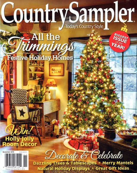 Country Sampler Cover - 11/1/2016