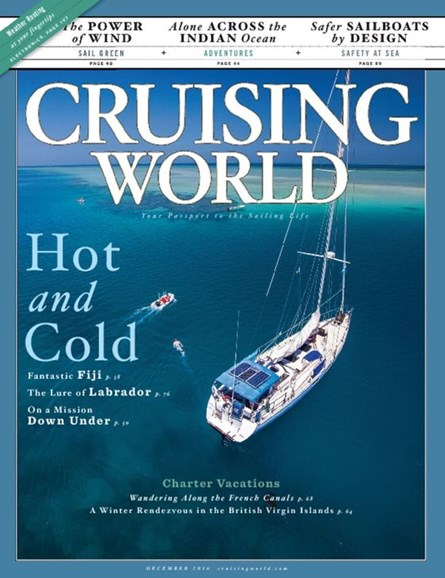 Cruising World Cover - 11/1/2016