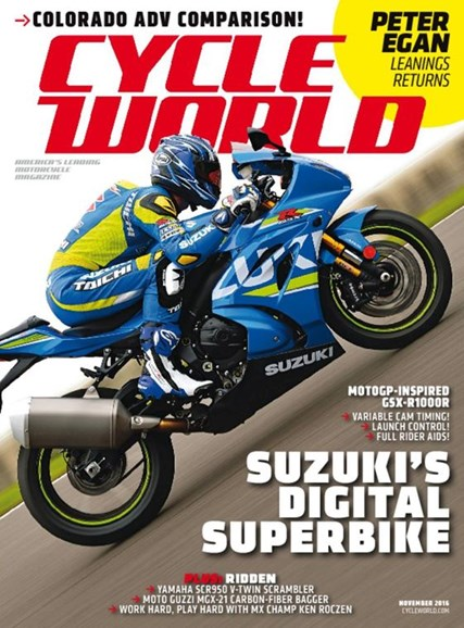 Cycle World Cover - 11/1/2016