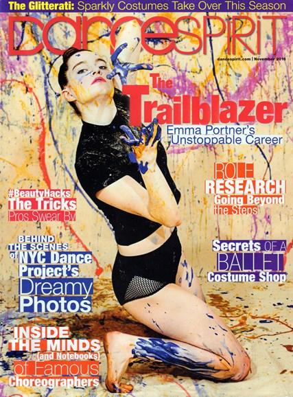Dance Spirit Cover - 11/1/2016