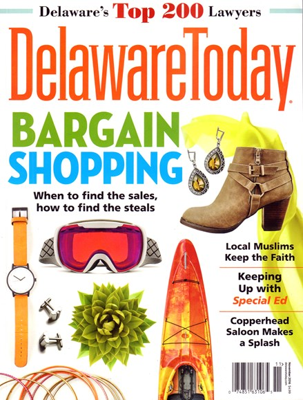 Delaware Today Cover - 11/1/2016