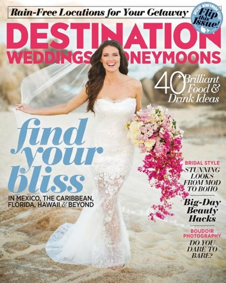 Destination Weddings & Honeymoons Cover - 11/1/2016