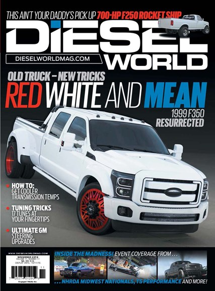 Diesel World Cover - 11/1/2016