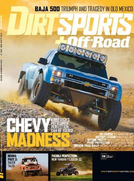 Dirt Sports & Off-Road Cover - 11/1/2016