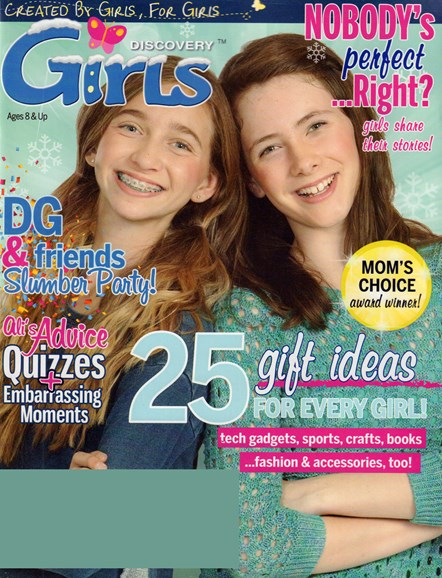 Discovery Girls Cover - 11/1/2016