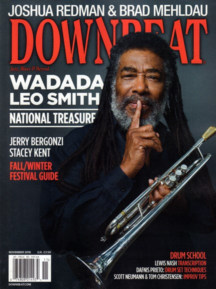 DownBeat Cover - 11/1/2016