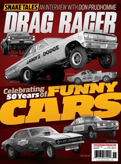 Drag Racer Cover - 11/1/2016
