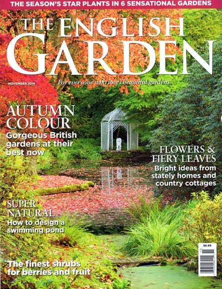 The English Garden Cover - 11/1/2016
