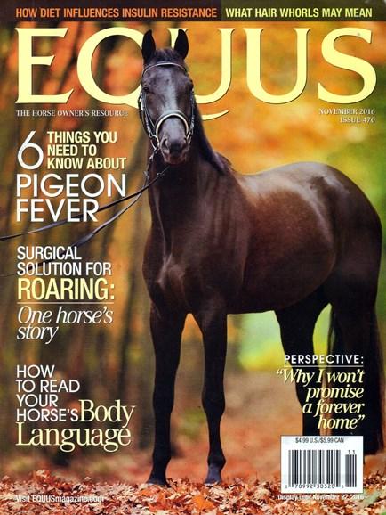 Equus Cover - 11/1/2016