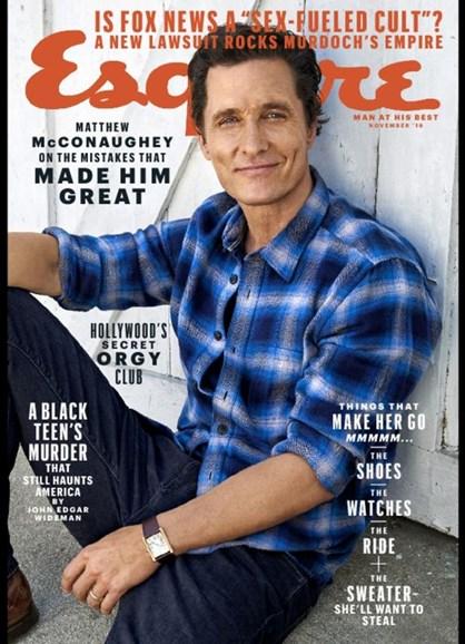 Esquire Cover - 11/1/2016