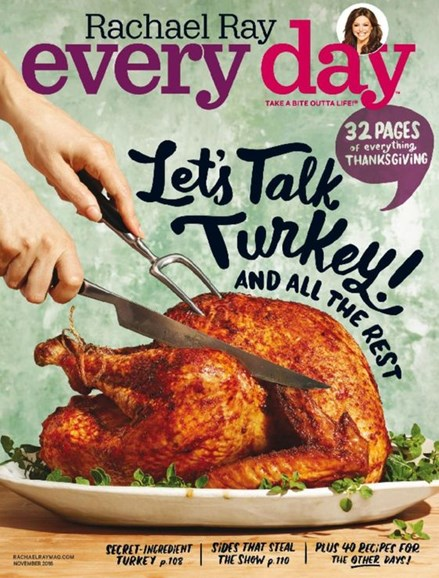 Rachael Ray Every Day Cover - 11/1/2016