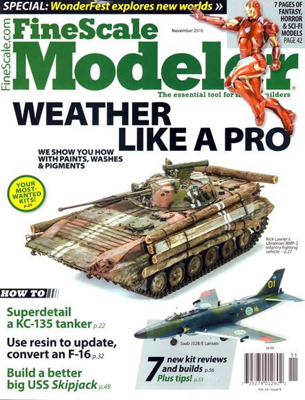Finescale Modeler Cover - 11/1/2016