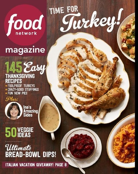 Food Network Cover - 11/1/2016