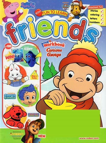 Preschool Friends Cover - 11/1/2016