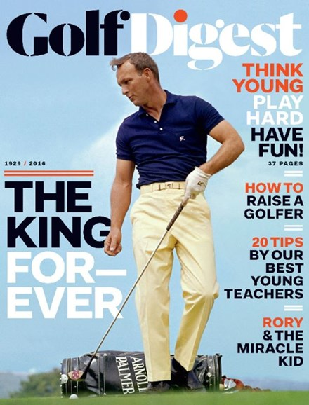 Golf Digest Cover - 11/1/2016