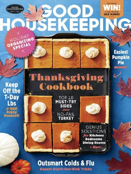 Good Housekeeping Cover - 11/1/2016