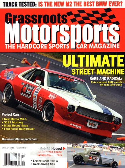 Grassroots Motorsports Cover - 11/1/2016