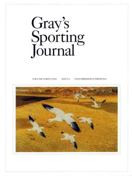 Gray's Sporting Journal Cover - 11/1/2016