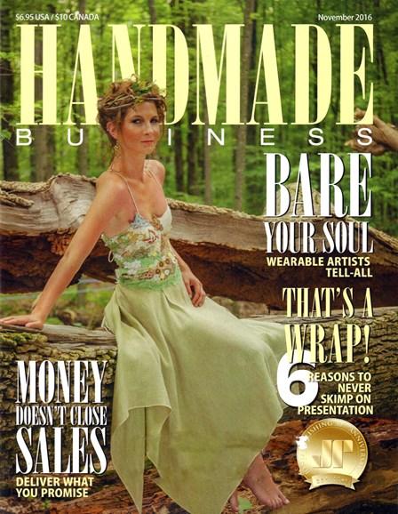 Handmade Business Cover - 11/1/2016