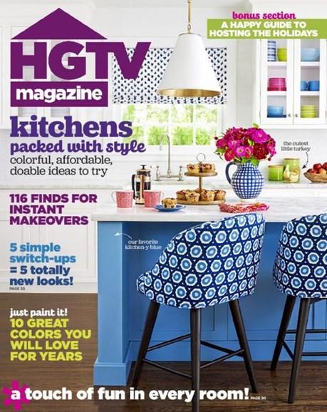 HGTV Cover - 11/1/2016