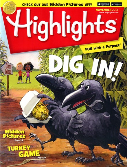 Highlights Cover - 11/1/2016