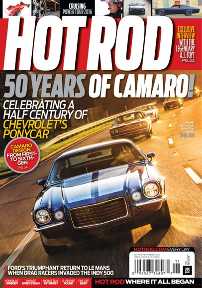 Hot Rod Cover - 11/1/2016