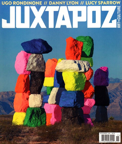 Juxtapoz Cover - 11/1/2016