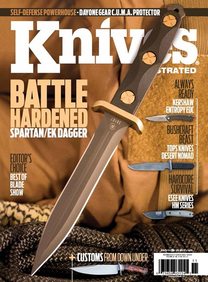 Knives Illustrated Cover - 11/1/2016