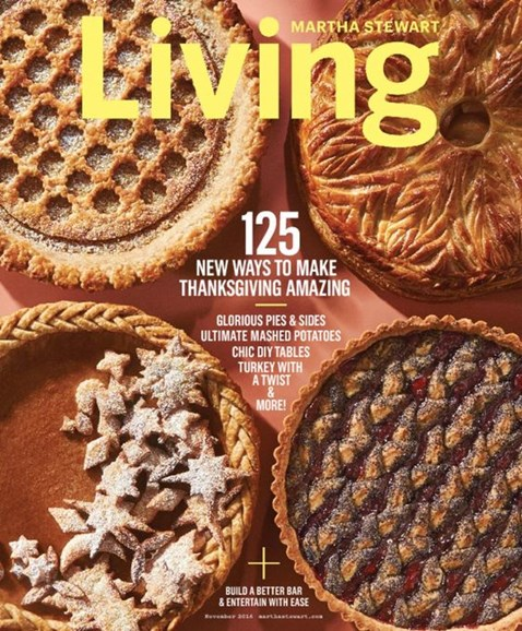 Martha Stewart Living Cover - 11/1/2016