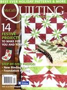 Mccall's Quilting Magazine 11/1/2016