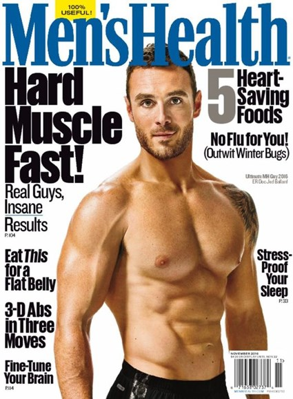 Men's Health Cover - 11/1/2016