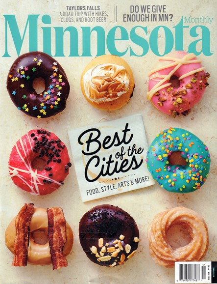 Minnesota Monthly Cover - 11/1/2016