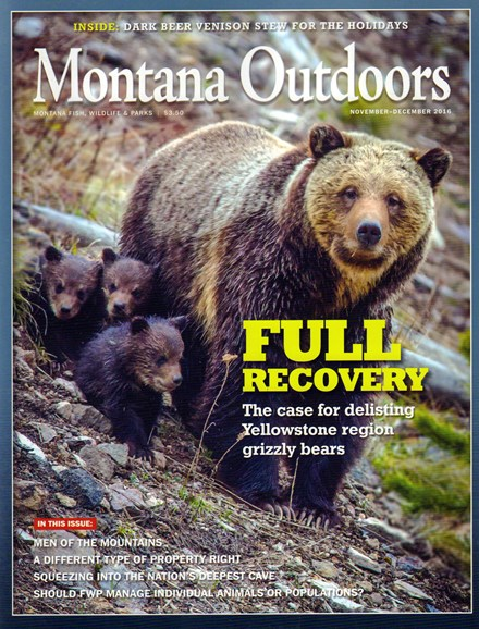 Montana Outdoors Cover - 11/1/2016