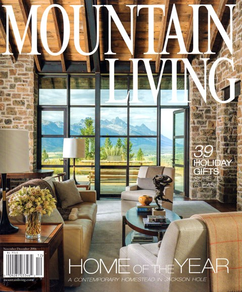 Mountain Living Cover - 11/1/2016