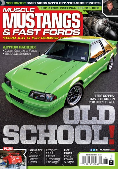 Muscle Mustangs & Fast Fords Cover - 11/1/2016