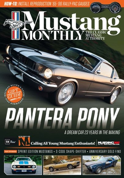Mustang Monthly Cover - 11/1/2016