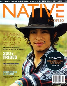 Native Peoples   11/2016 Cover