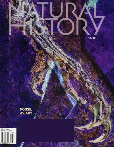 Natural History Cover - 11/1/2016