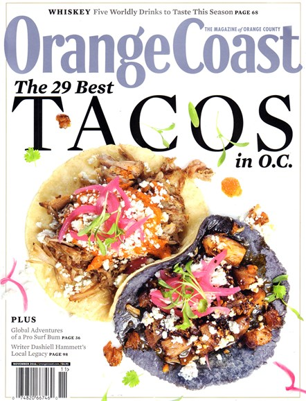 Orange Coast Cover - 11/1/2016