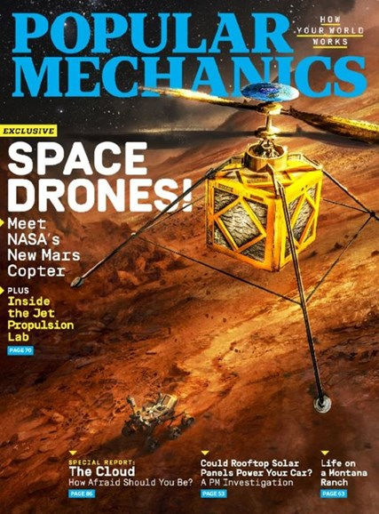 Popular Mechanics Cover - 11/1/2016