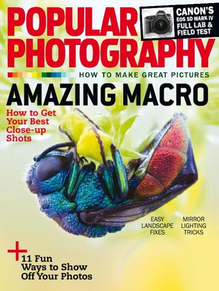 Popular Photography Cover - 11/1/2016