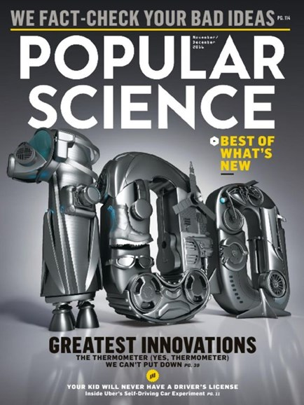 Popular Science Cover - 11/1/2016
